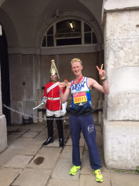 3 198x265 Virgin London Marathon   Chasing the Sub 3 hour