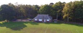Albury Cricket Club from the Air
